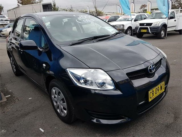 Used Toyota Corolla Ascent, Campbelltown, 2009 Toyota Corolla Ascent Hatchback