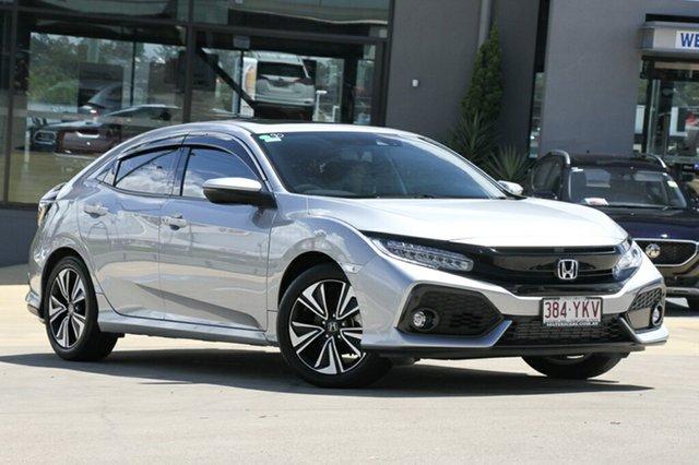 Used Honda Civic VTI-LX, Indooroopilly, 2018 Honda Civic VTI-LX Hatchback