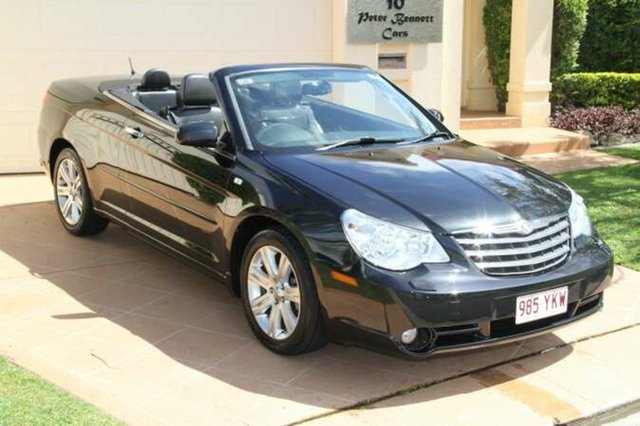 Discounted Used Chrysler Sebring Limited, Bundall, 2010 Chrysler Sebring Limited JS MY10 Convertible
