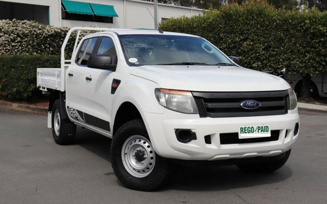 Used Ford Ranger XL Double Cab, Acacia Ridge, 2012 Ford Ranger XL Double Cab PX Cab Chassis