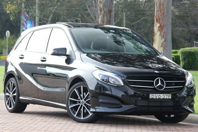 Demonstrator, Demo, Near New Mercedes-Benz B180 DCT, Warwick Farm, 2017 Mercedes-Benz B180 DCT Hatchback
