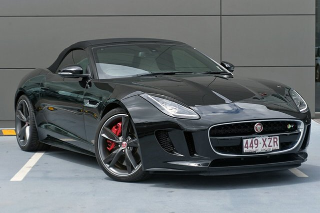 Demonstrator, Demo, Near New Jaguar F-TYPE R Quickshift RWD, Springwood, 2016 Jaguar F-TYPE R Quickshift RWD Convertible