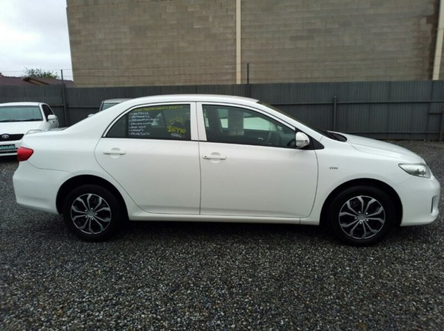Used Toyota Corolla Ascent, Klemzig, 2010 Toyota Corolla Ascent Sedan