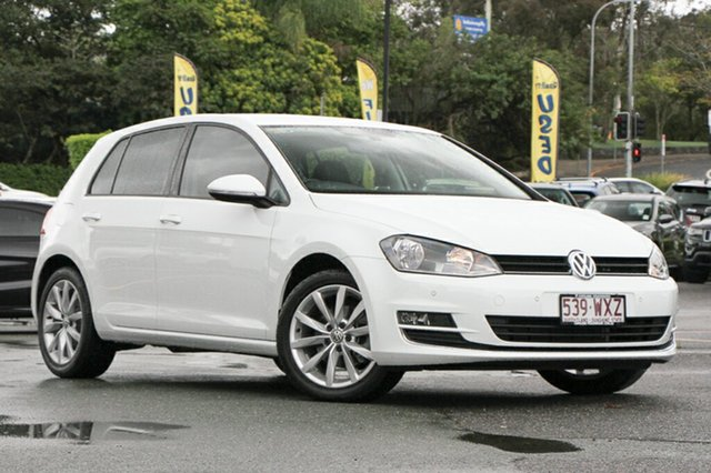 Used Volkswagen Golf 110TSI DSG Highline, Moorooka, Brisbane, 2016 Volkswagen Golf 110TSI DSG Highline Hatchback