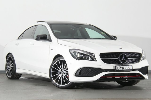 Demonstrator, Demo, Near New Mercedes-Benz CLA250 Sport DCT 4MATIC, Southport, 2018 Mercedes-Benz CLA250 Sport DCT 4MATIC Coupe