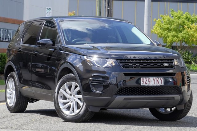 Used Land Rover Discovery Sport TD4 110kW SE, Newstead, 2017 Land Rover Discovery Sport TD4 110kW SE Wagon