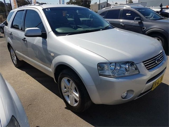Used Ford Territory Ghia AWD, Campbelltown, 2008 Ford Territory Ghia AWD Wagon
