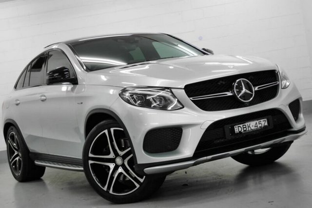 Used Mercedes-Benz GLE450 AMG Coupe 9G-Tronic 4MATIC, Southport, 2015 Mercedes-Benz GLE450 AMG Coupe 9G-Tronic 4MATIC Wagon