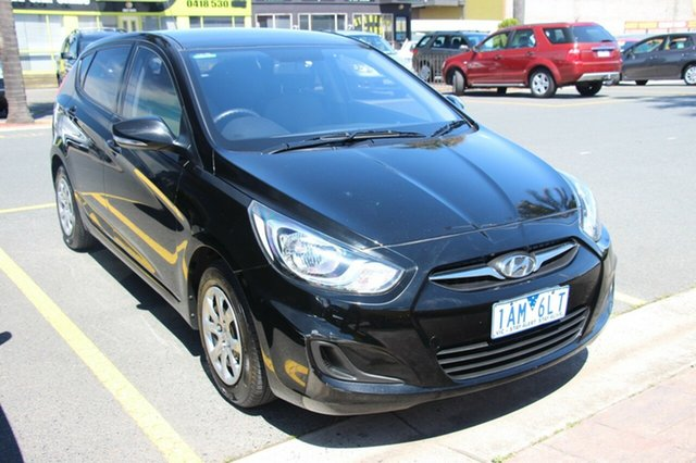 Used Hyundai Accent Active, Cheltenham, 2013 Hyundai Accent Active Hatchback