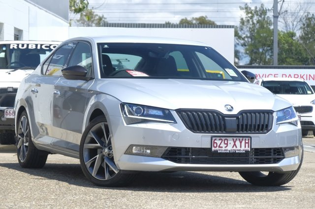 Used Skoda Superb 206TSI Sedan DSG SportLine, Bowen Hills, 2017 Skoda Superb 206TSI Sedan DSG SportLine Liftback