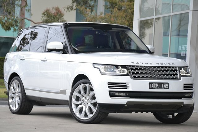 Used Land Rover Range Rover, Port Melbourne, 2014 Land Rover Range Rover Wagon