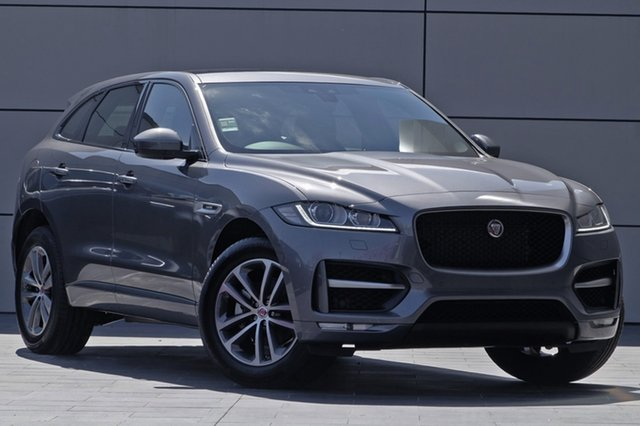 Demonstrator, Demo, Near New Jaguar F-PACE 25d AWD R-Sport, Newstead, 2018 Jaguar F-PACE 25d AWD R-Sport Wagon