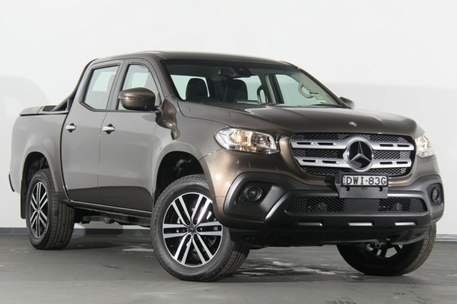 Discounted Demonstrator, Demo, Near New Mercedes-Benz X-Class X250d 4MATIC Progressive, Warwick Farm, 2018 Mercedes-Benz X-Class X250d 4MATIC Progressive Utility