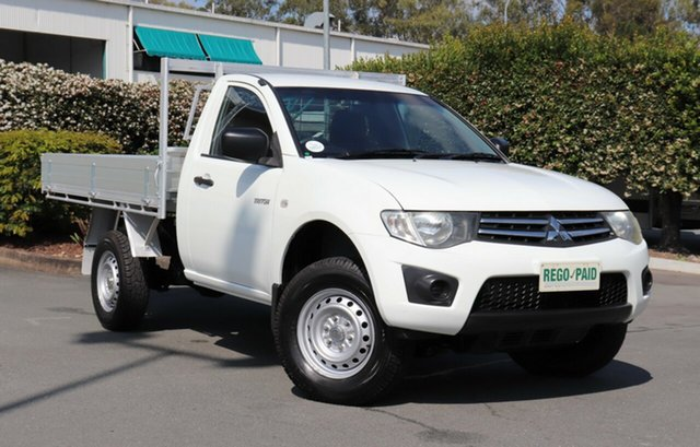 Used Mitsubishi Triton GLX 4x2, Acacia Ridge, 2011 Mitsubishi Triton GLX 4x2 MN MY11 Cab Chassis