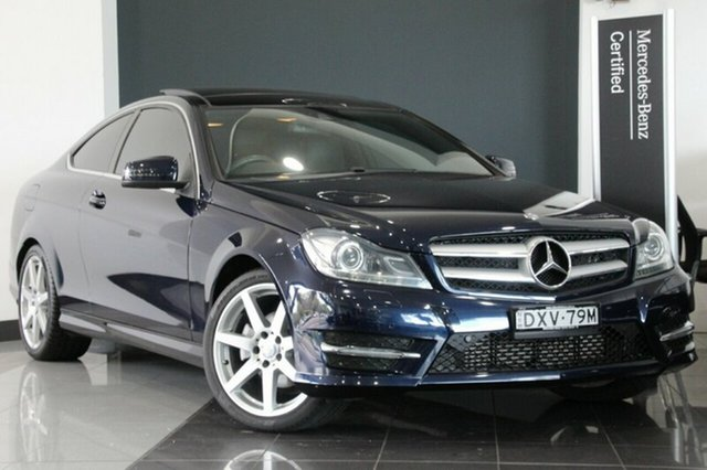 Used Mercedes-Benz C250 7G-Tronic +, Southport, 2014 Mercedes-Benz C250 7G-Tronic + Coupe
