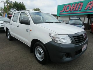 Used Toyota Hilux Workmate Double Cab 4x2, Mount Gravatt, 2014 Toyota Hilux Workmate Double Cab 4x2 TGN16R MY14 Utility