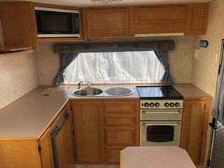 2003 Jayco Heritage 18' with Air Conditioning Caravan.