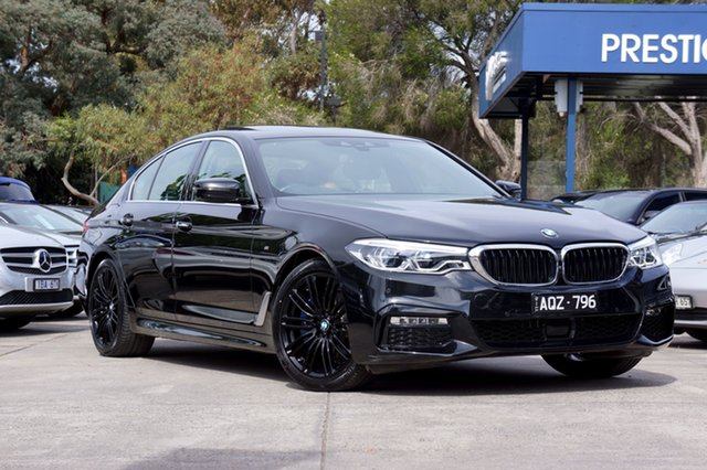 Used BMW 530i M Sport Steptronic, Balwyn, 2017 BMW 530i M Sport Steptronic Sedan