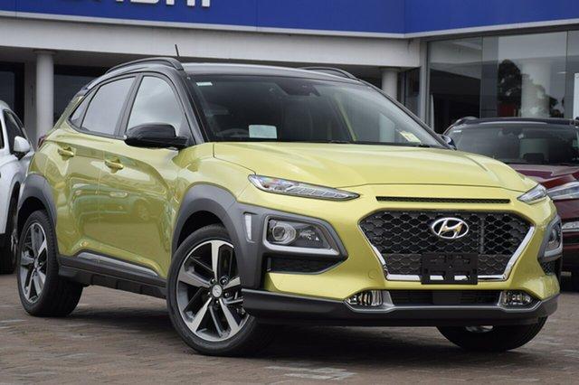 Discounted New Hyundai Kona Highlander D-CT AWD, Southport, 2018 Hyundai Kona Highlander D-CT AWD SUV