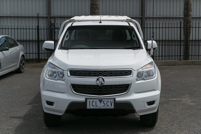 Used Holden Colorado LX (4x4), Oakleigh, 2014 Holden Colorado LX (4x4) RG MY14 Cab Chassis