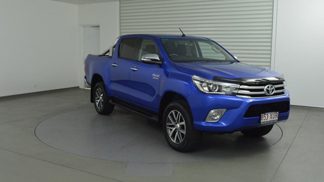 Used Toyota Hilux SR5 Double Cab 4x2 Hi-Rider, Southport, 2016 Toyota Hilux SR5 Double Cab 4x2 Hi-Rider Utility