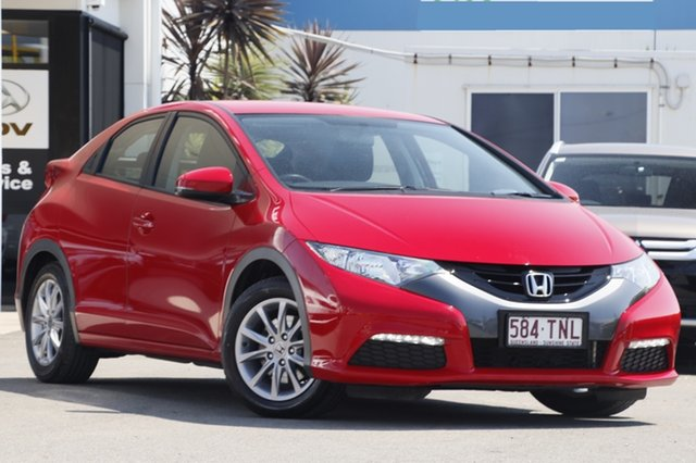 Used Honda Civic VTi-S, Bowen Hills, 2013 Honda Civic VTi-S Hatchback