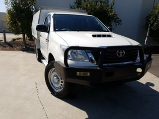 Used Toyota Hilux SR, Robina, 2014 Toyota Hilux SR KUN26R MY14 Cab Chassis