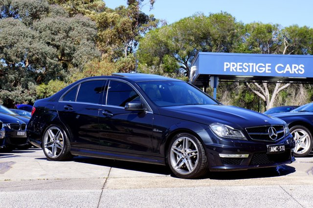 Used Mercedes-Benz C63 AMG SPEEDSHIFT MCT, Balwyn, 2011 Mercedes-Benz C63 AMG SPEEDSHIFT MCT Sedan