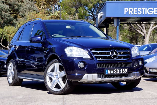 Used Mercedes-Benz ML300 CDI BlueEFFICIENCY AMG Sports, Balwyn, 2010 Mercedes-Benz ML300 CDI BlueEFFICIENCY AMG Sports Wagon