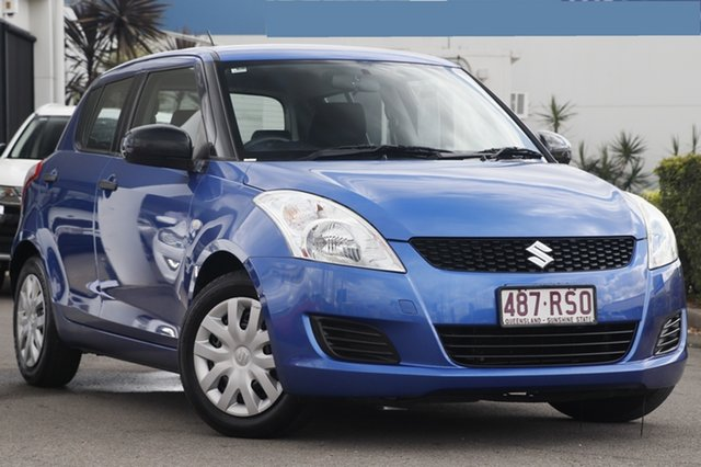 Used Suzuki Swift, Bowen Hills, 2010 Suzuki Swift Hatchback