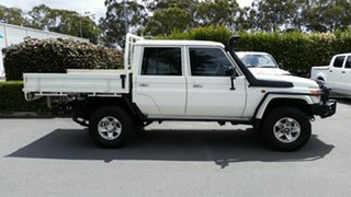 Used Toyota Landcruiser GXL Double Cab, Acacia Ridge, 2015 Toyota Landcruiser GXL Double Cab VDJ79R Cab Chassis