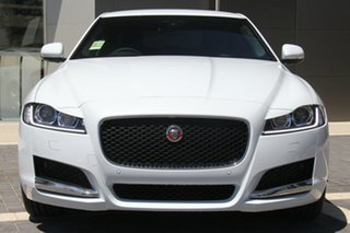 2018 Jaguar XF 20t Prestige Sedan.