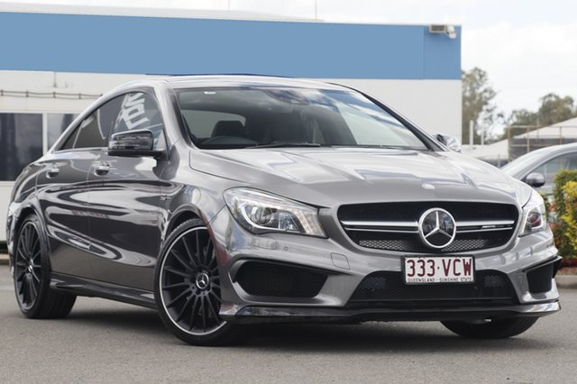 Used Mercedes-Benz CLA45 AMG SPEEDSHIFT DCT 4MATIC, Bowen Hills, 2014 Mercedes-Benz CLA45 AMG SPEEDSHIFT DCT 4MATIC Coupe