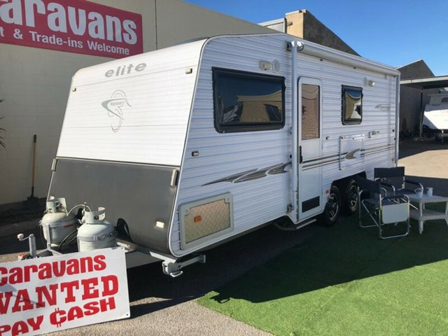 Discounted Used Elite Nepian 19' with Rear Ensuite, Klemzig, 2011 Elite Nepian 19' with Rear Ensuite Caravan