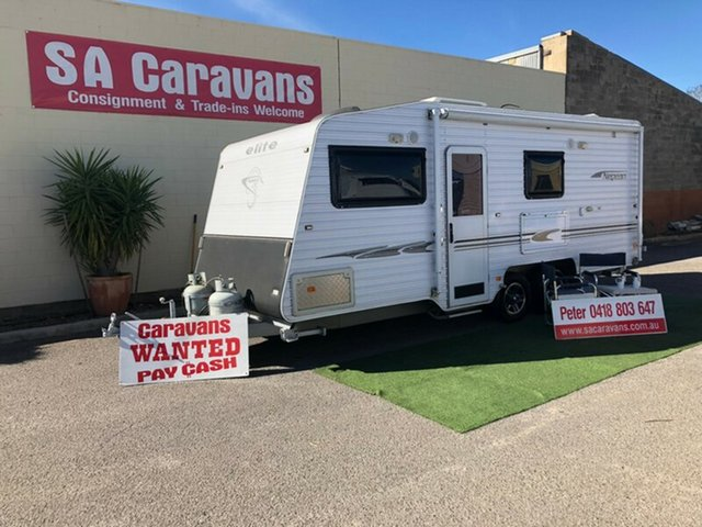 Used Elite Nepian 19' with Rear Ensuite, Klemzig, 2011 Elite Nepian 19' with Rear Ensuite Caravan