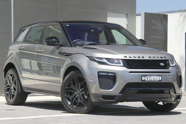 Demonstrator, Demo, Near New Land Rover Range Rover Evoque TD4 180 HSE Dynamic, Narellan, 2017 Land Rover Range Rover Evoque TD4 180 HSE Dynamic SUV