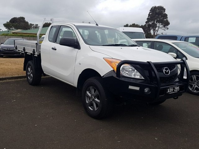 Used Mazda BT-50 XT Freestyle, Warrnambool East, 2012 Mazda BT-50 XT Freestyle Cab Chassis