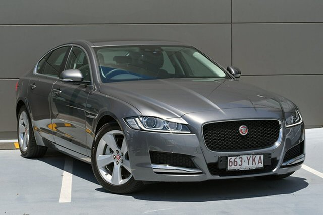 Demonstrator, Demo, Near New Jaguar XF 20D Prestige, Springwood, 2016 Jaguar XF 20D Prestige Sedan