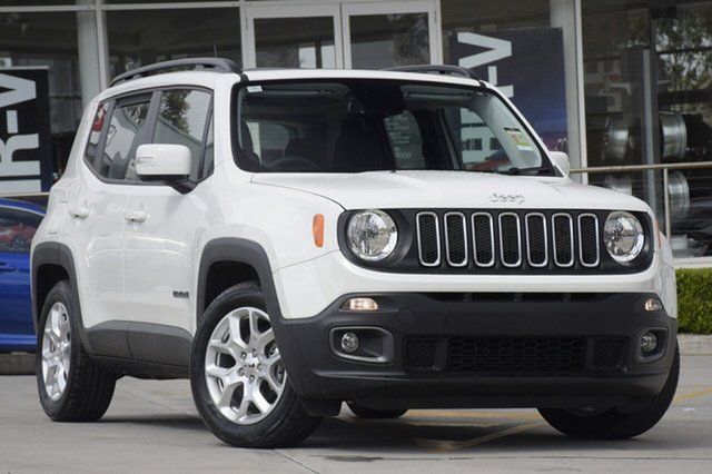Discounted New Jeep Renegade Longitude DDCT, Southport, 2017 Jeep Renegade Longitude DDCT SUV