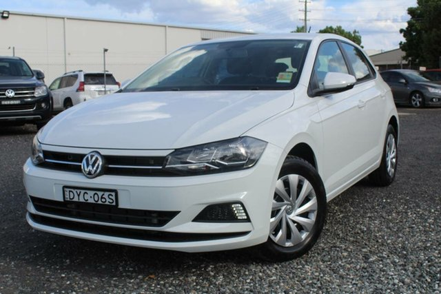 Demonstrator, Demo, Near New Volkswagen Polo MY19 VOLKSWAGEN POLO 70TSI TRENDLINE 7SP DSG HATCH, Warwick Farm, 2018 Volkswagen Polo MY19 VOLKSWAGEN POLO 70TSI TRENDLINE 7SP DSG HATCH Hatchback