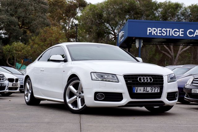 Used Audi A5 S tronic quattro, Balwyn, 2011 Audi A5 S tronic quattro Coupe