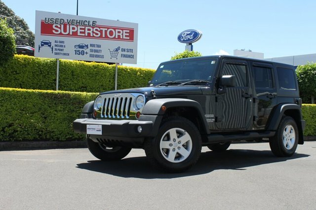 Used Jeep Wrangler Unlimited Sport, Toowoomba, 2011 Jeep Wrangler Unlimited Sport Softtop