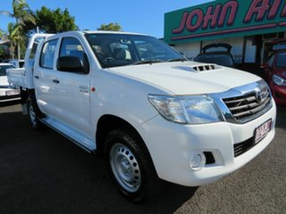 Used Toyota Hilux SR Double Cab, Mount Gravatt, 2015 Toyota Hilux SR Double Cab KUN26R MY14 Cab Chassis