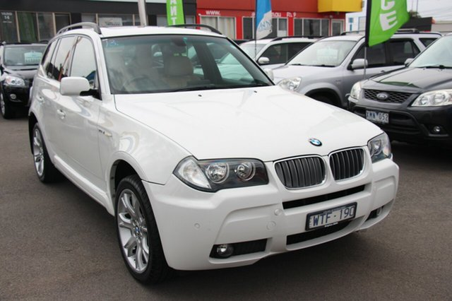 Used BMW X3 si Steptronic, Cheltenham, 2008 BMW X3 si Steptronic Wagon