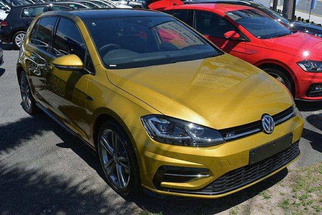 Demonstrator, Demo, Near New Volkswagen Golf 110TDI DSG Highline, Southport, 2018 Volkswagen Golf 110TDI DSG Highline Hatchback