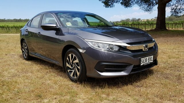 Demonstrator, Demo, Near New Honda Civic VTi, Tanunda, 2018 Honda Civic VTi Sedan