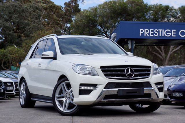 Used Mercedes-Benz ML250 BlueTEC 7G-Tronic +, Balwyn, 2013 Mercedes-Benz ML250 BlueTEC 7G-Tronic + Wagon