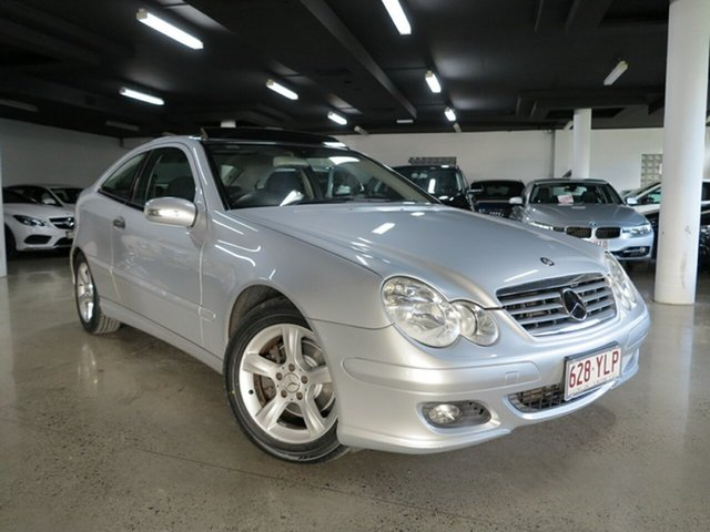Used Mercedes-Benz C200 Kompressor Sports, Albion, 2004 Mercedes-Benz C200 Kompressor Sports Coupe