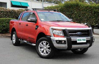 Used Ford Ranger Wildtrak Double Cab, Acacia Ridge, 2015 Ford Ranger Wildtrak Double Cab PX Utility