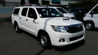 Used Toyota Hilux SR Double Cab 4x2, Acacia Ridge, 2014 Toyota Hilux SR Double Cab 4x2 KUN16R MY14 Utility